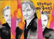 """MIGUEL BOSE' - RARO CD + LIBRO """" SERENO """""""