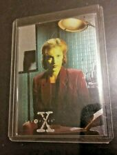 THE X-FILES SEASON 1 1995 TOPPS FINEST CHROMIUM INSERT CARD X4 of 4 DANA SCULLY