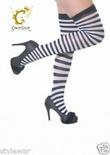 NEW LADIES/GIRLS OVER THE KNEE SOCKS STOCKINGS THIGH HIGH WITH BOWS HOLD UP