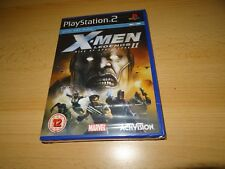 PS2 X-Men Legends II Rise of the Apocalypse Brand New & Factory Sealed pal
