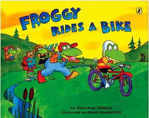 Froggy Rides a Bike by Jonathan London (Paperback) FREE shipping $35