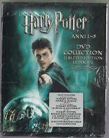 HARRY POTTER ANNI 1-5 - [COFANETTO 12 DVD] - NUOVO SIGILLATO - RARO - ITALIANO