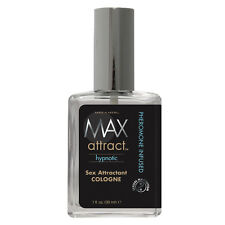 1 MAX ATTRACT HYPNOTIC sex attractant cologne pheromone infused spray max 4 men