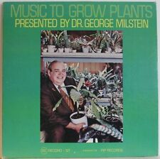 MUSIC TO GROW PLANTS 1970 E.S.C. LP NM w/ RARE sealed SEED PACKET strange psych