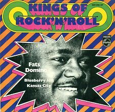 "FATS DOMINO - KANSAS CITY / MYRTILLE HILL 7"" KINGS OF ROCK 'N' ROLL UNIQUE A935"