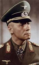 COLOR WWII Photo Erwin Rommel Portrait  WW2 World War Two Afrika Korps /2088