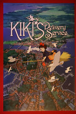 Kiki's Delivery Service Walt Disney Animated Anime Movie Poster 24X36 New