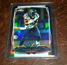 2014 TOPPS CHROME BLACK REFRACTOR DEANDRE HOPKINS TEXANS #'D 006/299