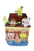 Express Productions SS ARK Noah's Ark Ceramic Cookie Jar Candy Jar Biblical