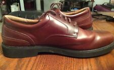 Mens Brown Leather Rockport Oxford Shoes Lace Up 11