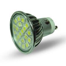 GU10 20SMD 5050 240v AC 4W 120 grados Cool blanco Led lámpara bombilla - 0101