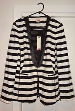 Jag - Striped Blazer NEW with Tags Size 14 (RRP $169.00)