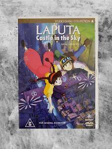LAPUTA : CASTLE IN THE SKY (1986) DVD CULT ANIME GHIBLI WIDESCREEN R4