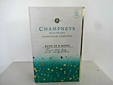champneys health spa professional collection book of 8 masks - new/boxed