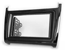 Carav 11-539 CAR RADIO RADIO FACEPLATE FOR VW POLO V 6C 2014+ Black pianolack