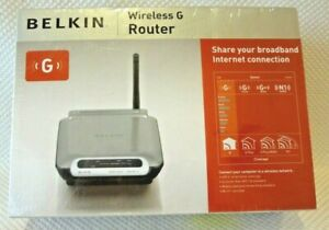 Belkin Wireless G Router 400 Ft Range Internet Router (Unopened Factory Packing)