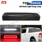 For Dodge Ram 02-09 1500 2500 3500 Smoked Led 3rd Third Brake Light Cargo Lamp