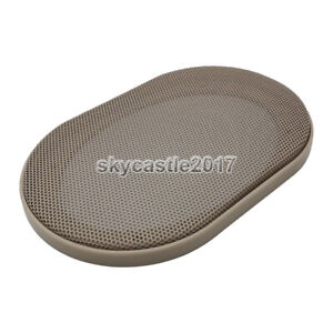 """2pcs New 4""""x6"""" inch Speaker Cover Metal Mesh Grille Protection Decorative Circle"""