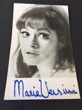 MARIE VERSINI  Winnetou 'Nscho-tschi' signed Autogrammkarte 9 x 14  Autogramm