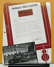 1939 Ford Truck Model V8 Panel Testimonial By Hudson Bay Fur Company
