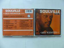 CD ALBUM ben webster sOULVILLE 833551 2
