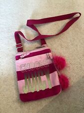 Genuine Pink Juicy Couture Crossover Bag