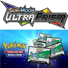 25 Ultra Prism Codes Pokemon Sun & Moon TCG Online Booster - EMAILED FAST!
