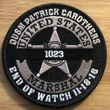 US Marshals Service-DUSM Patrick Carothers COMM BG - Genuine *Kokopelli Patch*