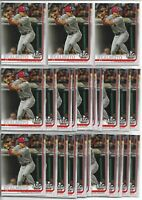 2019 Topps Update J.T. Realmuto (24) Card Bulk All-Star Lot Phillies #US58 ASG