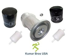 New Kubota Filter KIT AIR/FUEL/OIL/HST G1700 G1800 G1900 G2000 GF1800