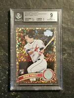 2011 Topps Update Mike Trout Cognac Diamond Anniversary BGS 9 #US175