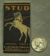 vintage old Stud Smoking Tobacco rolling papers Horse Piedmont Country