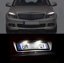 6 lampadine a LED Bianco Luci posizione + di targa Mercedes classe C w204 s204