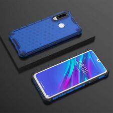 Für Huawei P30 Lite + 2020 New Edition Schock Silikon TPU Blau Tasche Hülle Etui