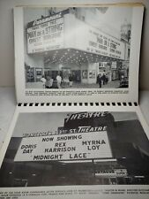 Adler Changeable Letter Display Catalog Photos Of Drive-ins Theatres...