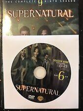 Supernatural - Season 9, Disc 6 REPLACEMENT DISC (not full season)