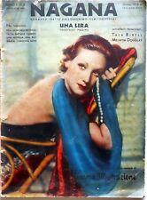 HOLLYWOOD CINEMA ILLUSTRAZIONE N.6 1933 NAGANA TALA BIRELL MELWYN DOUGLAS