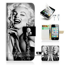 ( For iPhone 5 / 5S / SE ) Wallet Case Cover! Marilyn Monroe P1371