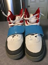 Air Jordan Size 10.5 White, Grey and Blue Yeezy