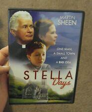 Stella Days DVD Trystan Gravelle Stephen Rae Martin Sheen Marcella Plunkett NEW