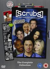 Scrubs Season 1-9 Complete DVD Box Set Comedy TV Series Region 2 New