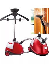 PROFESSIONAL FABRIC CLOTHES GARMENT STEAMER IRON HEAT FREE ATTACHMENTS