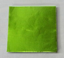Lime Green  Candy Foil Wrappers Confectionery Foil 500 count 3