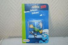 SCHTROUMPF GARDIEN DE BUT /SMURF GOAL /SCHLUMPFE  2003 NEUF BY SCHLEICH 21017