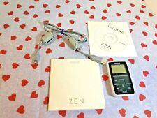 Creative ZEN Micro White MP3 Works Great ~