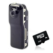 MD80 Mini DV BDRG Camera Hidden DVR Video Sports Recorder + Mini 8GB SD Card