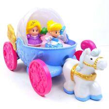 Little People Disney Princess Cinderella Musical Coach Carriage With Rapunzel