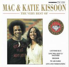 Mac & Katie Kissoon Very Best Of CD Love Will Keep Us Together/Lavender Blue+
