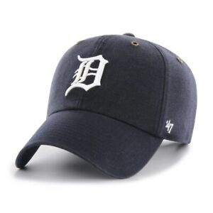 47 Brand Beanie Detroit Tigers B-HYMKR09ACE-BK Schwarz