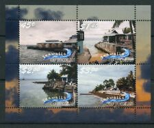 Tokelau 2018 MNH Seawalls 4v M/S Tourism Landscapes Palm Trees Nature Stamps